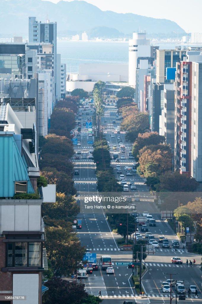 Fukuoka cityscape : ストックフォト