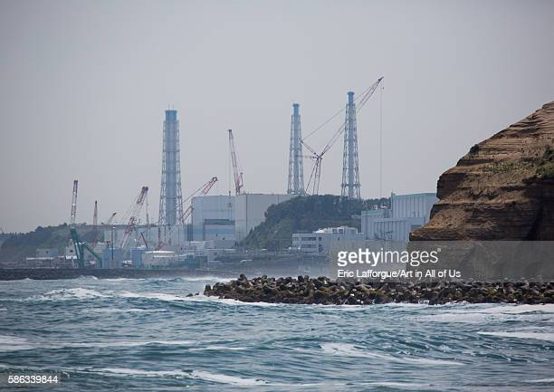 Fukushima daiichi nuclear power plant five years after the tsunami, fukushima prefecture, futaba, Japan on May 23, 2016 in Futaba, Japan.