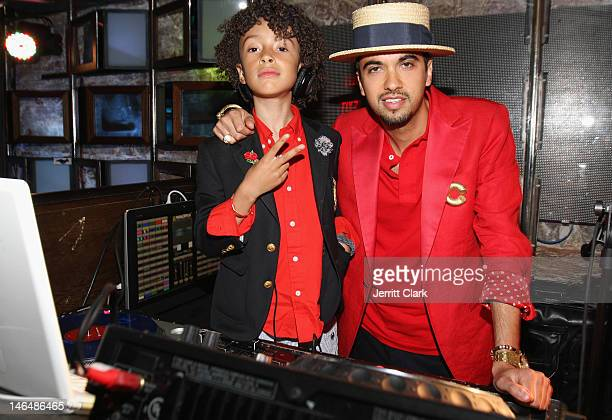 Fulano and DJ Cassidy spin at Fulano's Fun House at SL on June 16 2012 in New York City