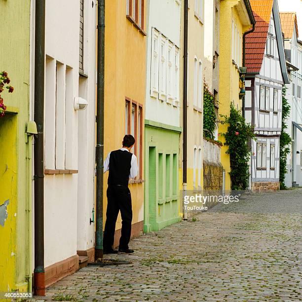 Fulda - Traditional half-timbered houses in Fulda