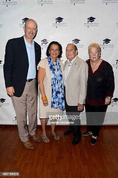 Fulfillment Fund CEO Kenny Rodgers UCLA Undergraduate Dean Pat Turner Chairman/Founder Dr Gary Gitnick and CoFounder Cherna Gitnick attend special...