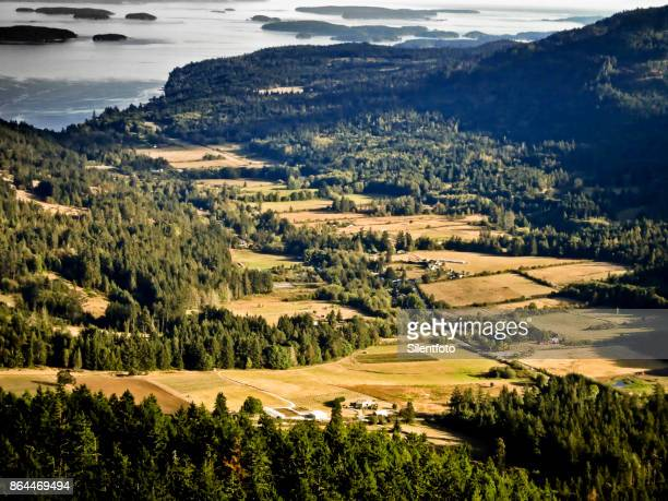 Fulford Valley Landscape, Salt Spring Island, BC