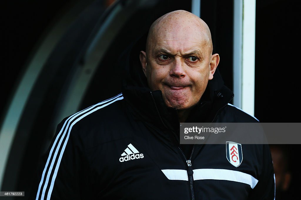 Fulham assistant head coach Ray Wilkins looks on before the Barclays Premier League match between Fulham and Sunderland at Craven Cottage on January 11, 2014 in London, England.