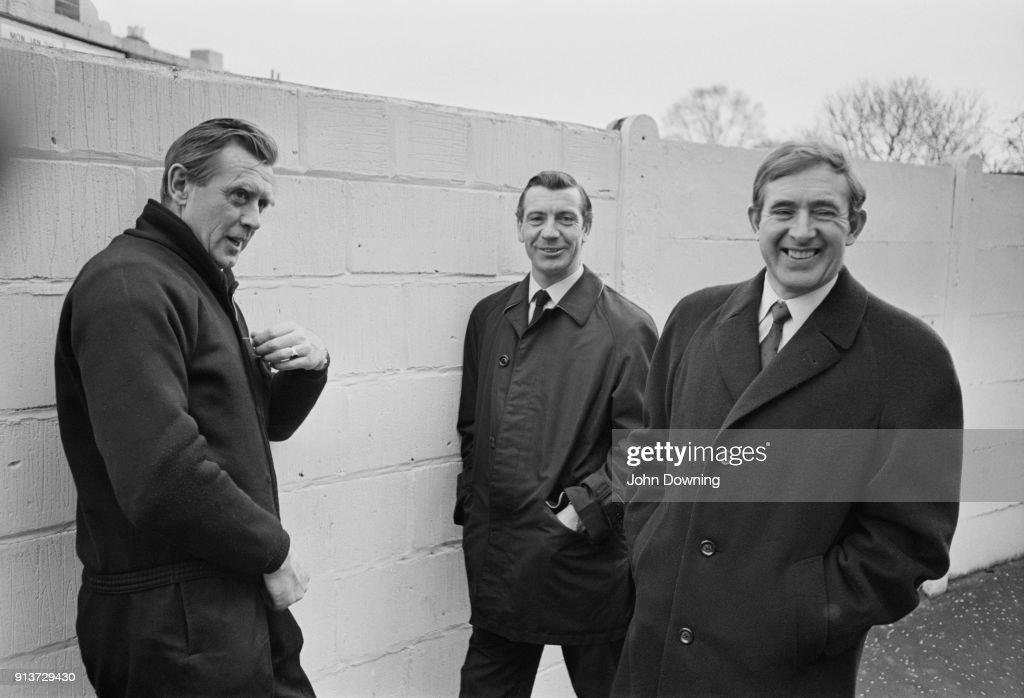 Buckingham, Haynes, and Blanchflower : News Photo