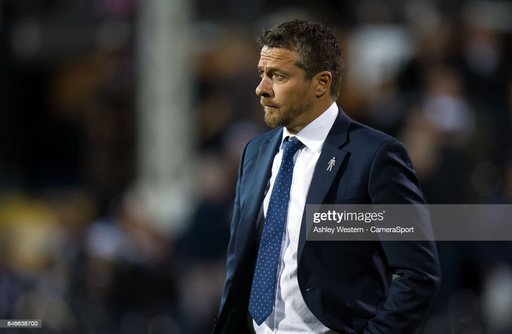 Fulham manager Slavisa Jokanovic before the Sky Bet Championship match between Fulham and Hull City at Craven Cottage on September 13, 2017 in London, England.