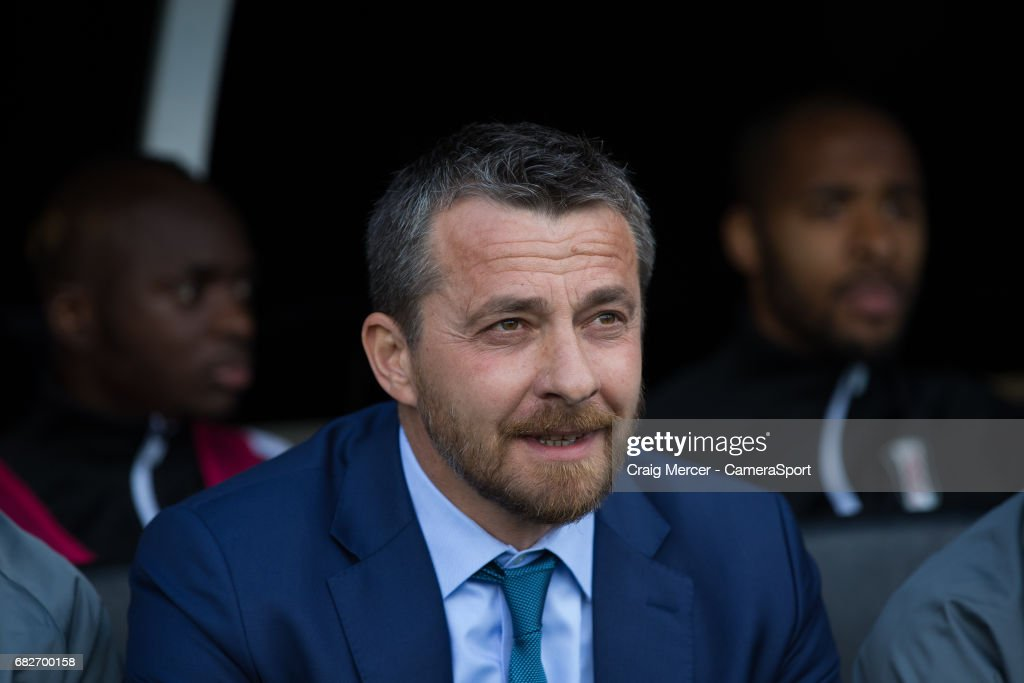 Fulham manager Slavisa Jokanovic during the Sky Bet Championship match between Fulham and Reading at Craven Cottage on May 13, 2017 in London, England.