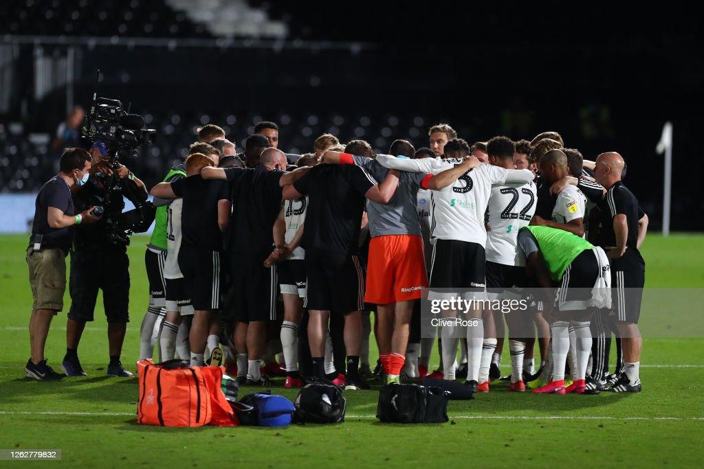 Fulham v Cardiff City - Sky Bet Championship Play Off Semi-final 2nd Leg : News Photo