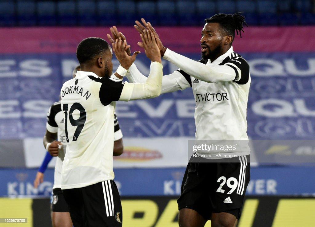 Leicester City v Fulham - Premier League - King Power Stadium : News Photo