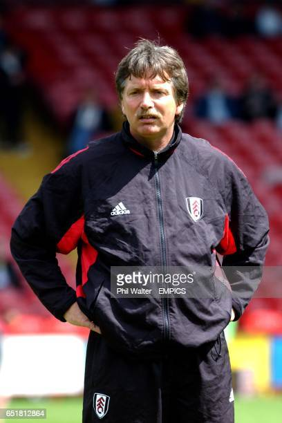 Fulham's assistant manager Sturla Voll