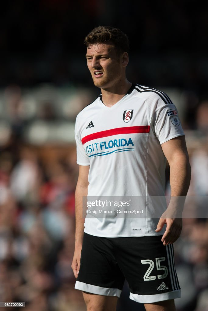 Fulham's Chris Martin during the Sky Bet Championship match between Fulham and Reading at Craven Cottage on May 13, 2017 in London, England.