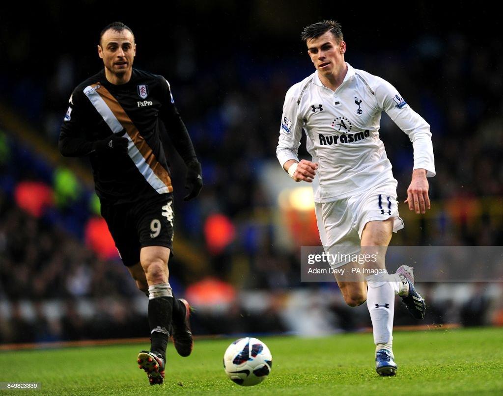 Soccer - Barclays Premier League - Tottenham Hotspur v Fulham - White Hart Lane : Nyhetsfoto