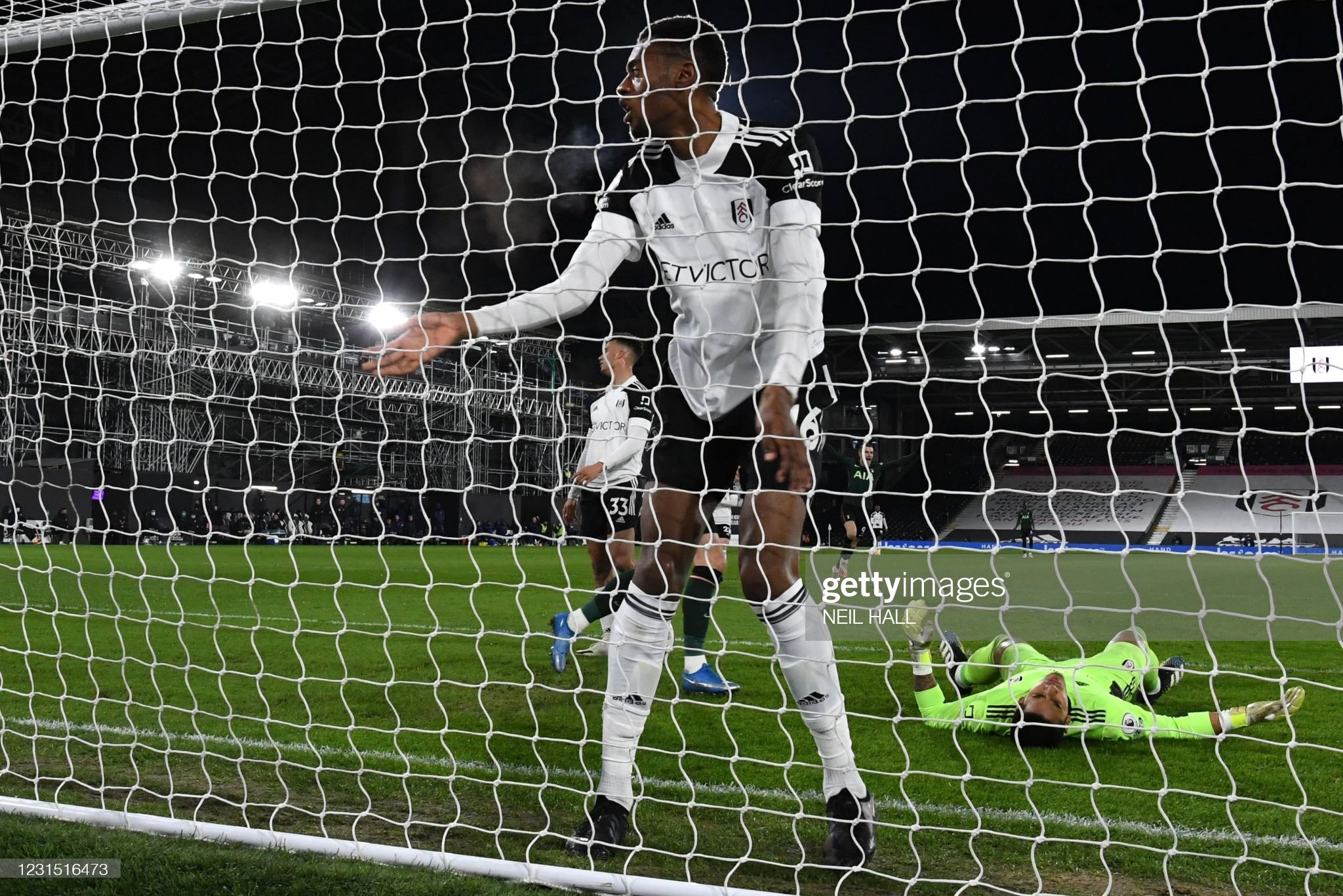 Blow for Fulham as Spurs win derby clash