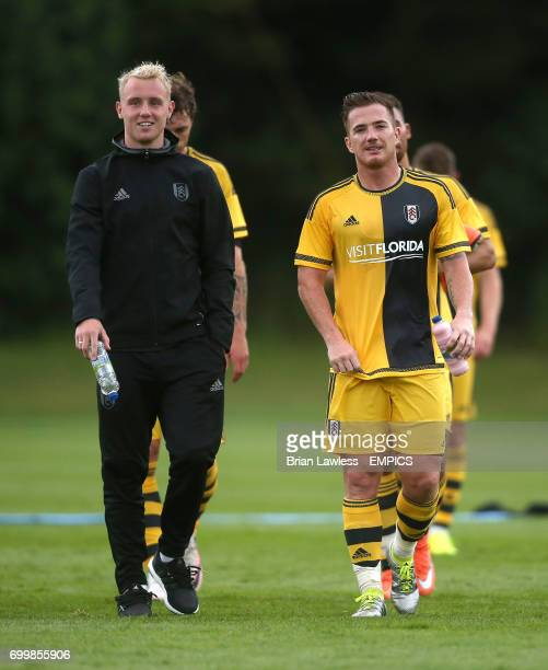 Fulham's Jack Grimmer and Ross McCormack
