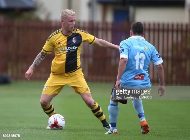 Fulham's Jack Grimmer in action against Cobh Ramblers during their preseason friendly at Fota Island Cork Republic of Ireland
