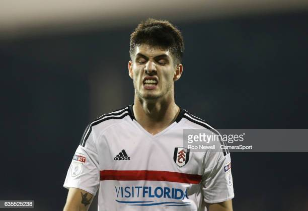 Fulham's Lucas Piazon during the Sky Bet Championship match between Fulham and Nottingham Forest at Craven Cottage on February 14 2017 in London...