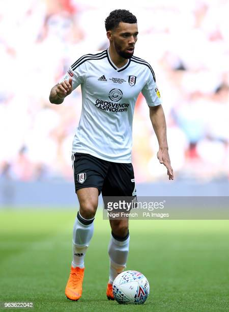 Fulham's Ryan Fredericks during the Sky Bet Championship Final at Wembley Stadium London