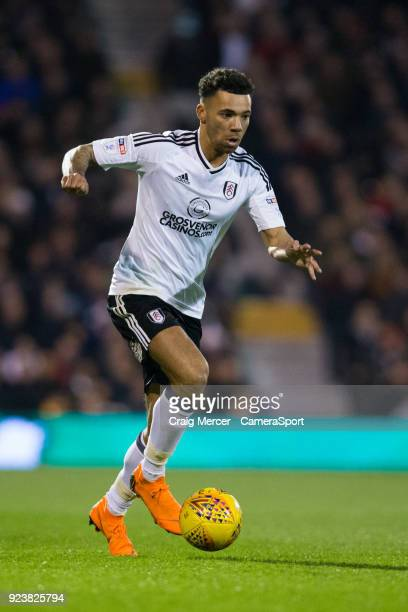 Fulham's Ryan Fredericks in action during the Sky Bet Championship match between Fulham and Wolverhampton Wanderers at Craven Cottage on February 24...