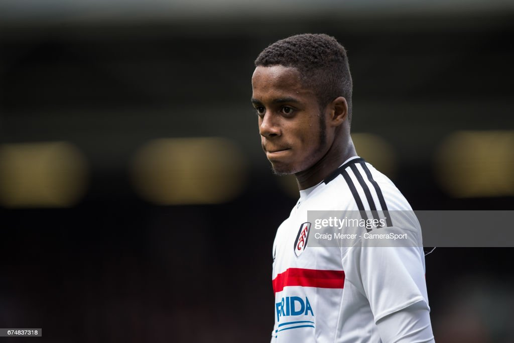 Fulham's Ryan Sessegnon during the Sky Bet Championship match between Fulham and Brentford at Craven Cottage on April 29, 2017 in London, England.