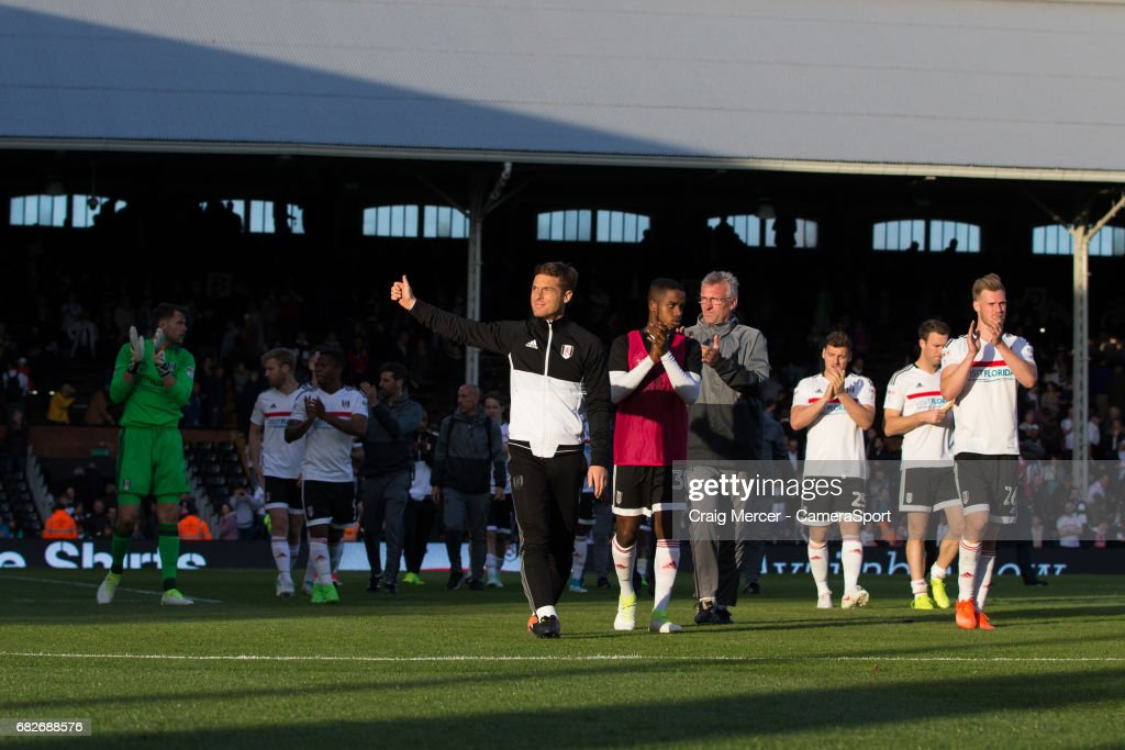 Fulham v Reading - Sky Bet Championship Play Off: First Leg : News Photo