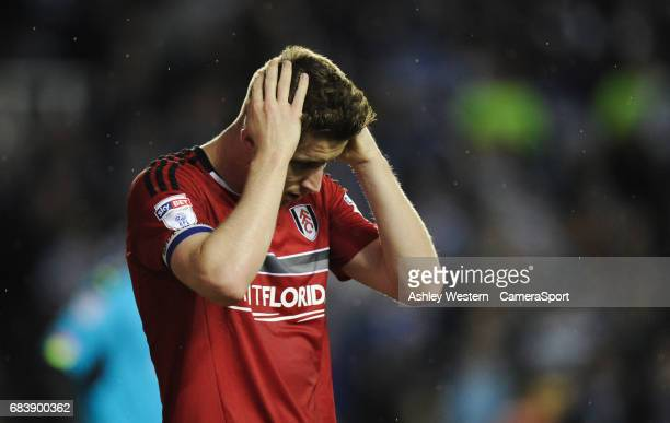 Fulham's Tom Cairney dejected as a final chance goes begging during the 10 defeat in the Sky Bet Championship PlayOff Semi Final Second Leg match...