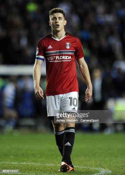 Fulham's Tom Cairney during the Sky Bet Championship PlayOff Semi Final Second Leg match between Reading and Fulham at Madejski Stadium on May 16...