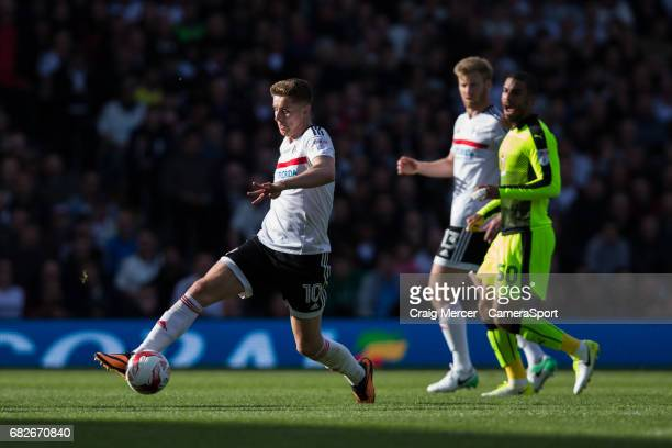Fulham's Tom Cairney in action during the Sky Bet Championship match between Fulham and Reading at Craven Cottage on May 13 2017 in London England