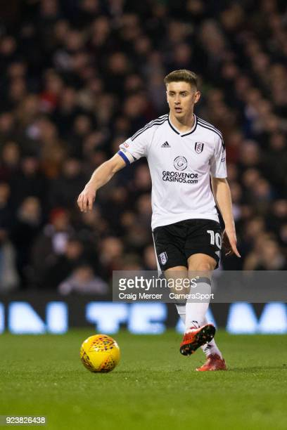 Fulham's Tom Cairney in action during the Sky Bet Championship match between Fulham and Wolverhampton Wanderers at Craven Cottage on February 24 2018...