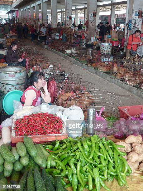 Fuli'Markt, Guangxi, China
