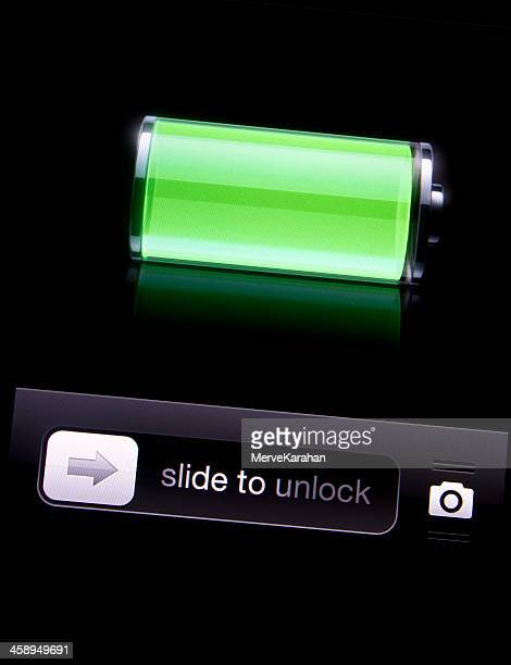 Full battery icon on iphone 4S