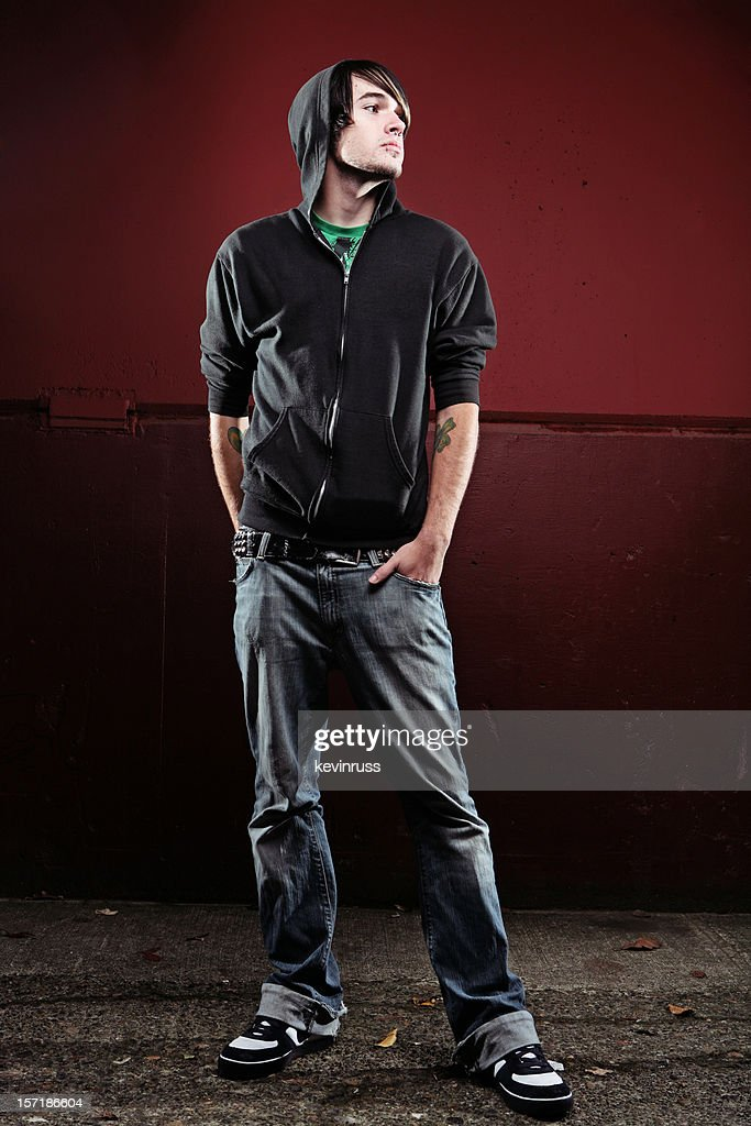 full body hoodie full body shot scene male black hoodie stock photo getty 2316