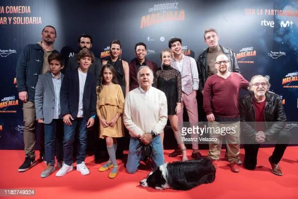 Full cast attend Los Rodriguez y el mas allá premiere on October 22 2019 in Madrid Spain