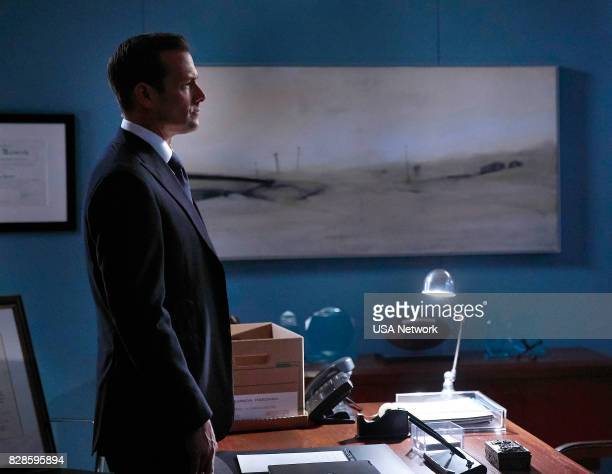 """Full Disclosure"""" Episode 707 -- Pictured: Gabriel Macht as Harvey Specter --"""