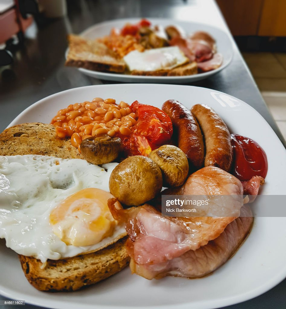 Full English Breakfast : Stock Photo