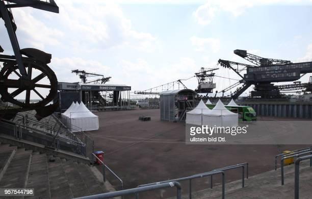 Full Forces Festival neuer Veranstaltungsort SArena Ferropolis Bühne