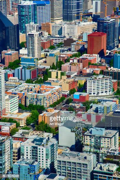 Full Frame generiska Urban bakgrund