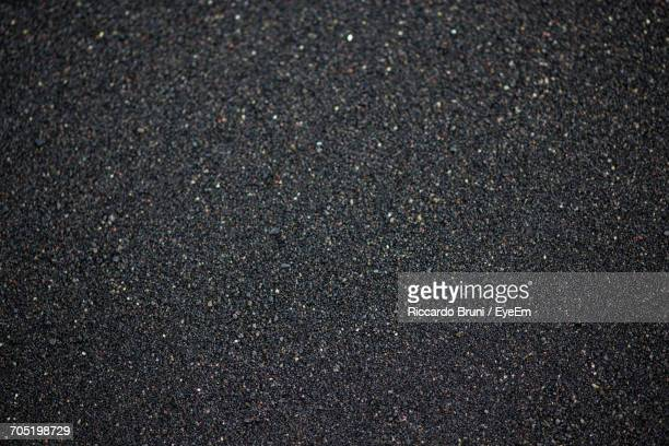 Full Frame Image Of Black Sand