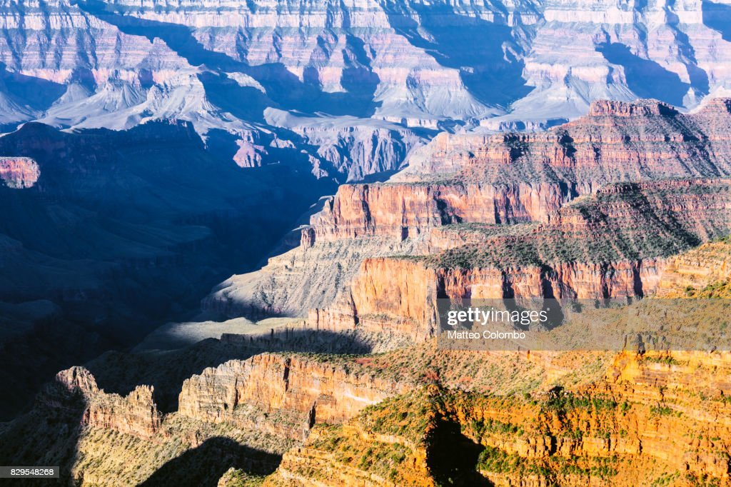 Full Frame Image Of Grand Canyon At Sunrise Usa Stock Photo Getty