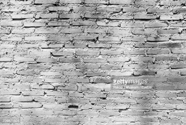 Full Frame Image Of Old Brick Wall