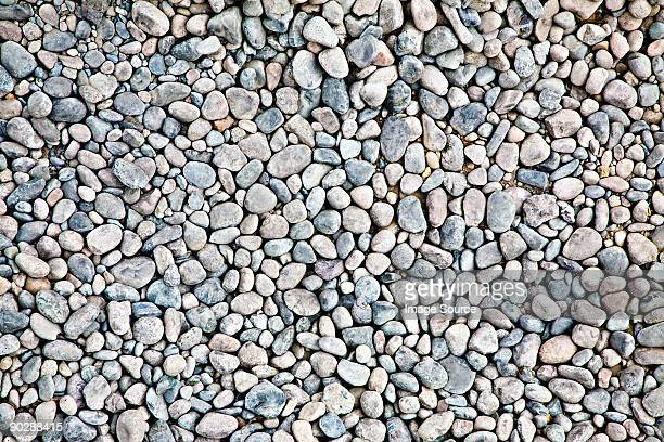 Full frame image of pebbles