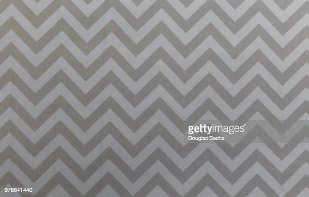 Full frame of a Grey colored Zigzag pattern