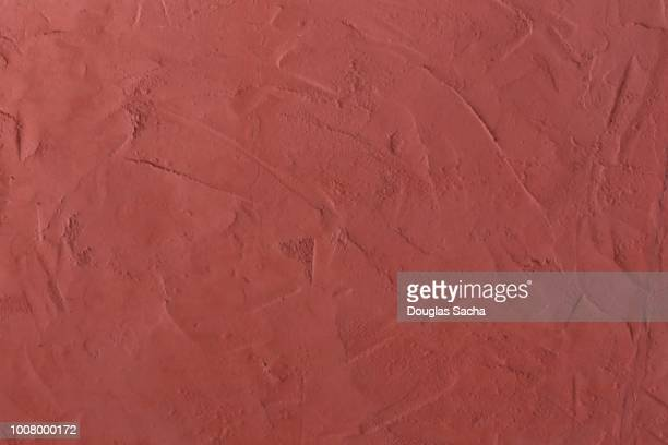 full frame of a stucco building surface - clay stock pictures, royalty-free photos & images
