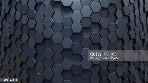 full frame of abstract pattern - honeycomb stock pictures, royalty-free photos & images