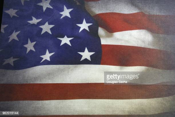 full frame of an american flag - president stock pictures, royalty-free photos & images
