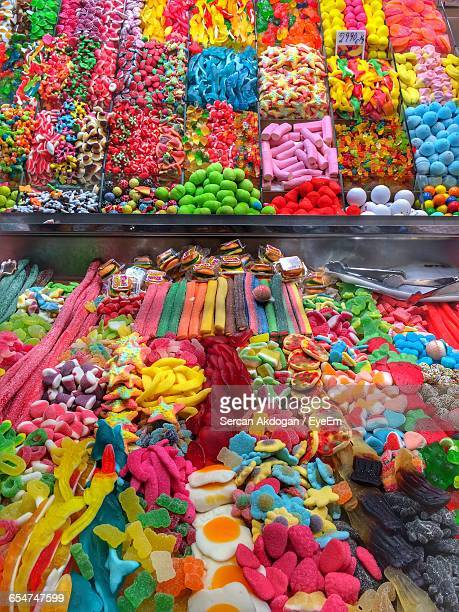 Full Frame Of Candies