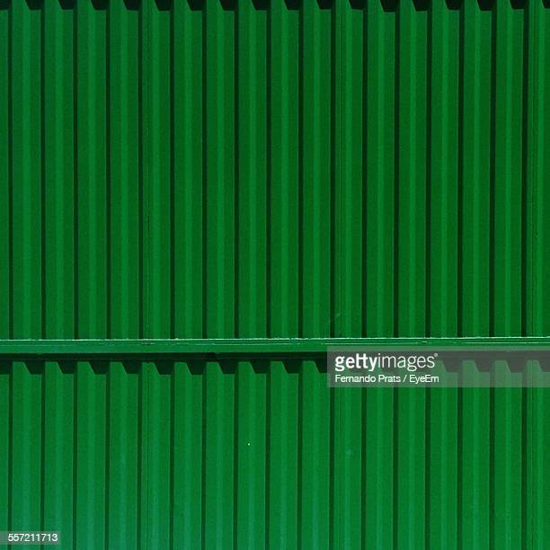Full Frame Of Cargo Container