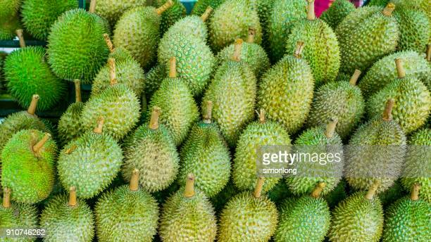 Full  frame of  Durians