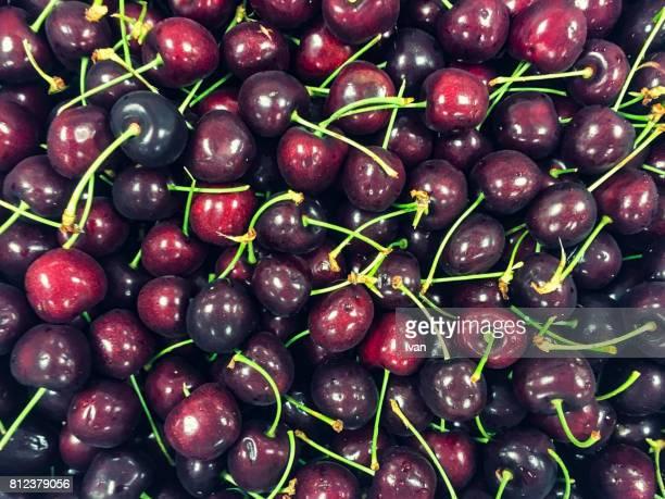Full Frame of Freshness Cherry