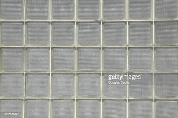 Full frame of Glass Block Window