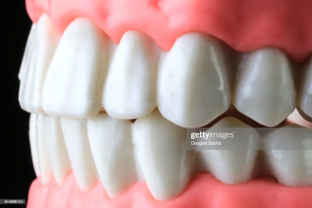 Full Frame Of Human Teeth Stock Photo Getty Images