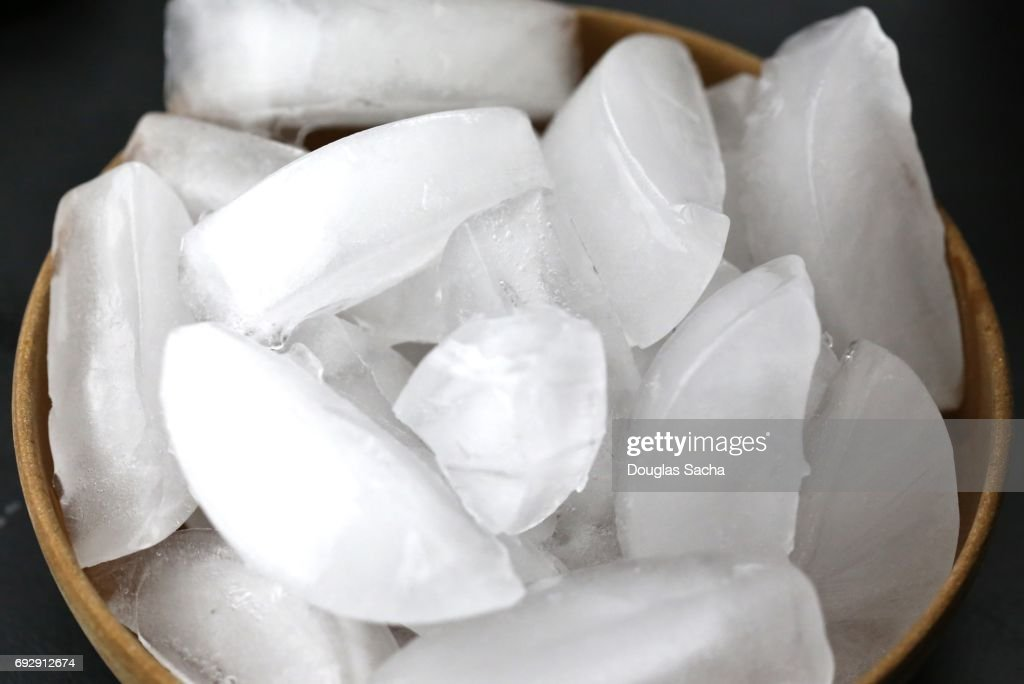 Full frame of ice cubes : Stockfoto